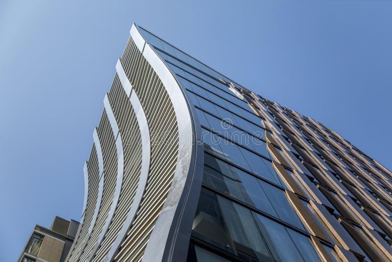 De Beers银座大厦在东京,日本 库存照片