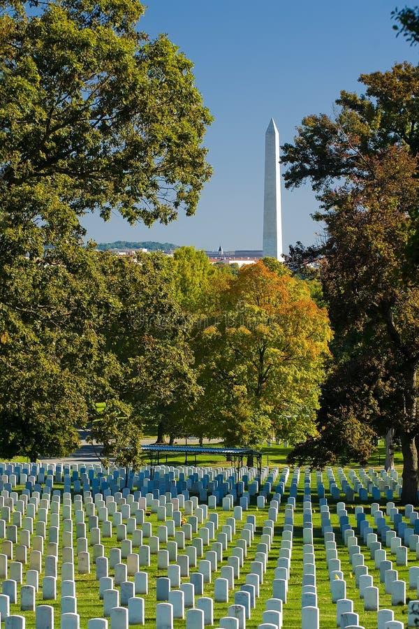 De Begraafplaats van Arlington royalty-vrije stock afbeelding