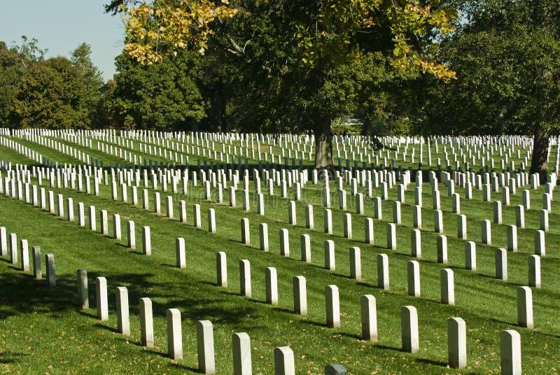 De Begraafplaats van Arlington stock afbeelding