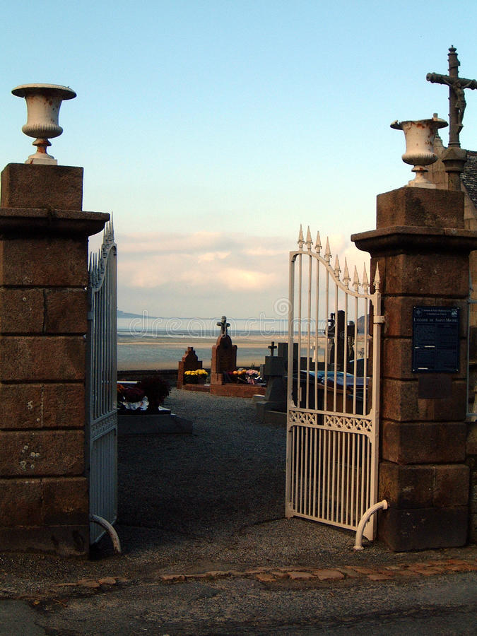 De Begraafplaats van Bretagne royalty-vrije stock foto