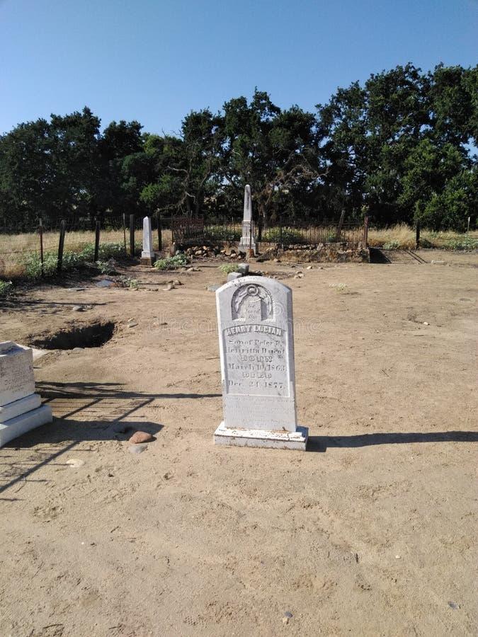De begraafplaats van Lagrange stock afbeelding