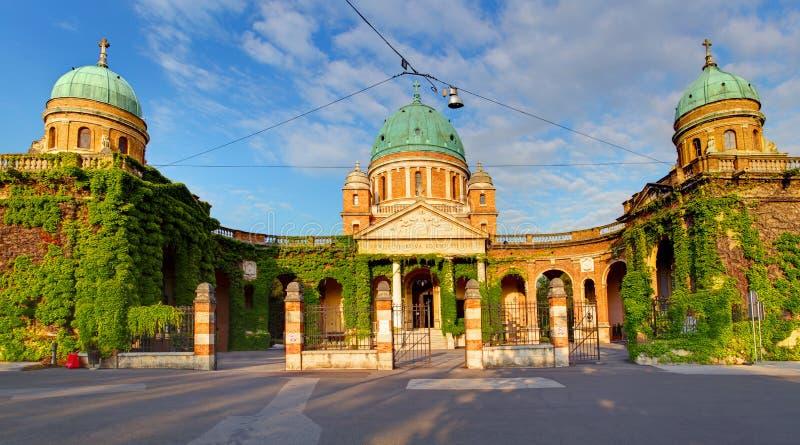 De begraafplaats van Zagreb - Mirogoj- stock afbeeldingen