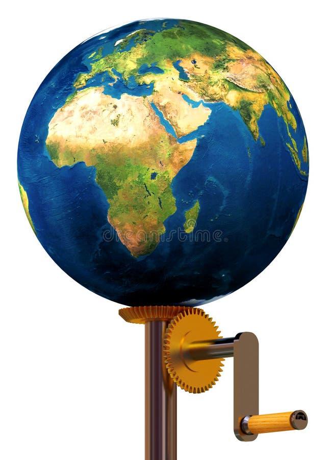 De behoeftehulp van de aarde om net te werken! stock illustratie