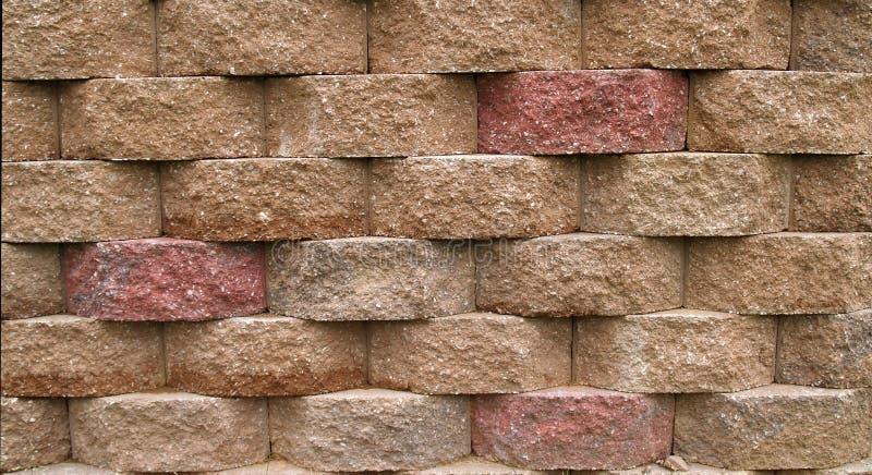 De Behoudende Muur van het blok stock afbeeldingen