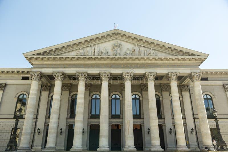 De Beierse Opera van de Staat royalty-vrije stock foto's