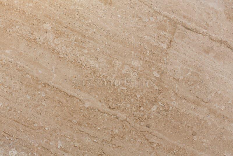 De beige marmeren achtergrond van de vloertegel Natuurlijk marmer stock foto