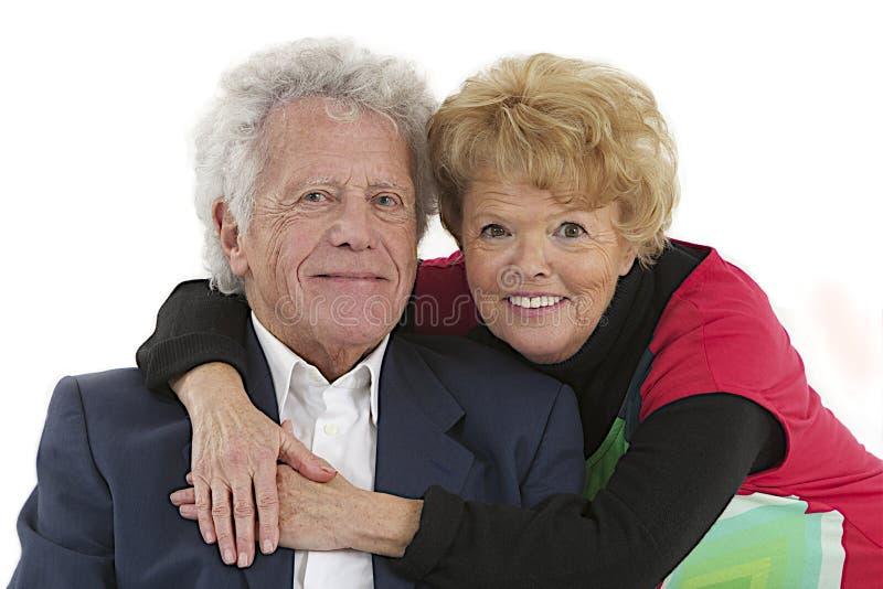 De bejaarden van Nice koppelen stock fotografie