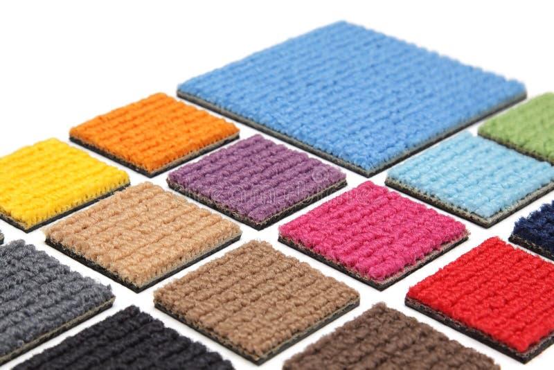 De bekledingen van het tapijt royalty-vrije stock foto