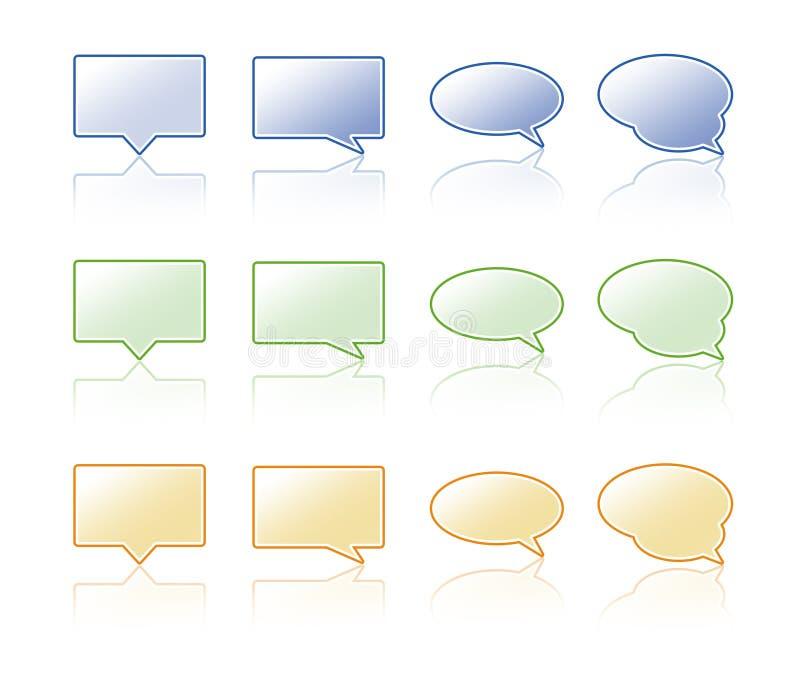 De bel van de bespreking. royalty-vrije stock afbeeldingen