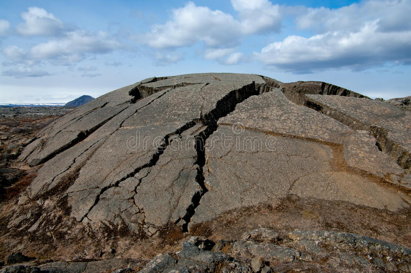 De Bel van de lava stock fotografie