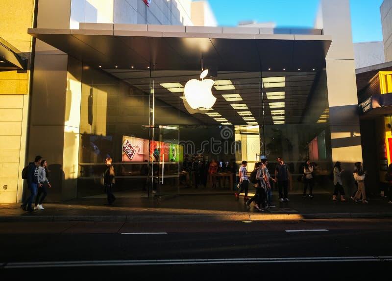 De belangrijkste Apple-opslag in Bondi-Verbinding, Sydney royalty-vrije stock foto