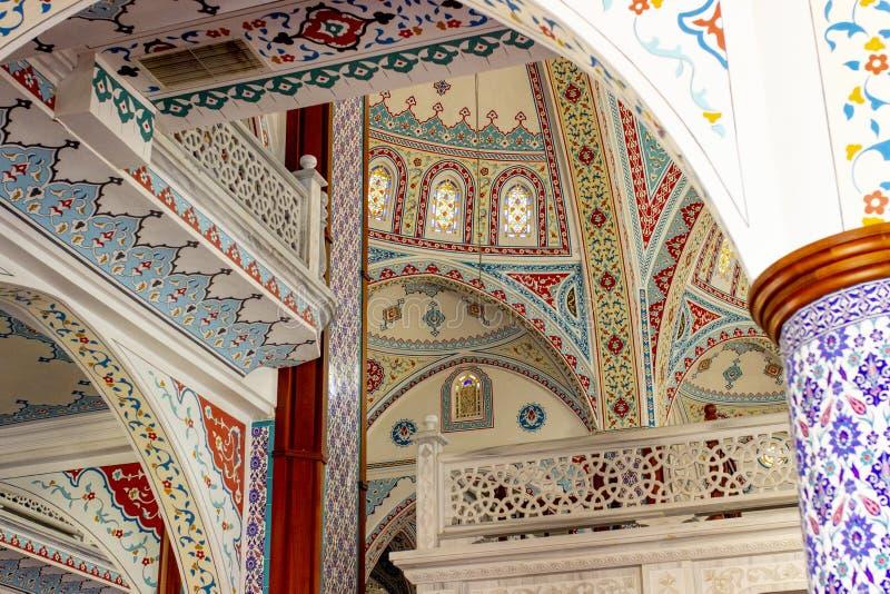 De belangrijkste moskee van Manavgat stock afbeeldingen