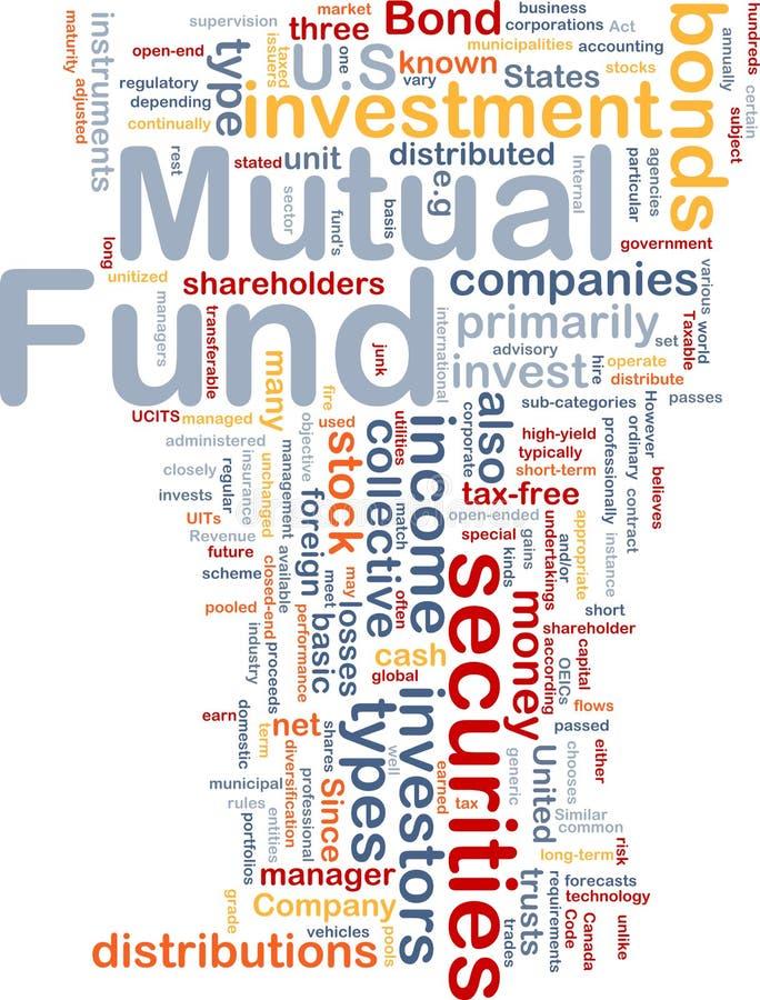 De beleggingsmaatschappij is been achtergrondconcept vector illustratie