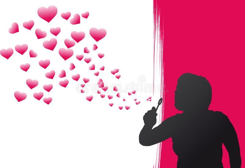 De Bellen van het hart vector illustratie