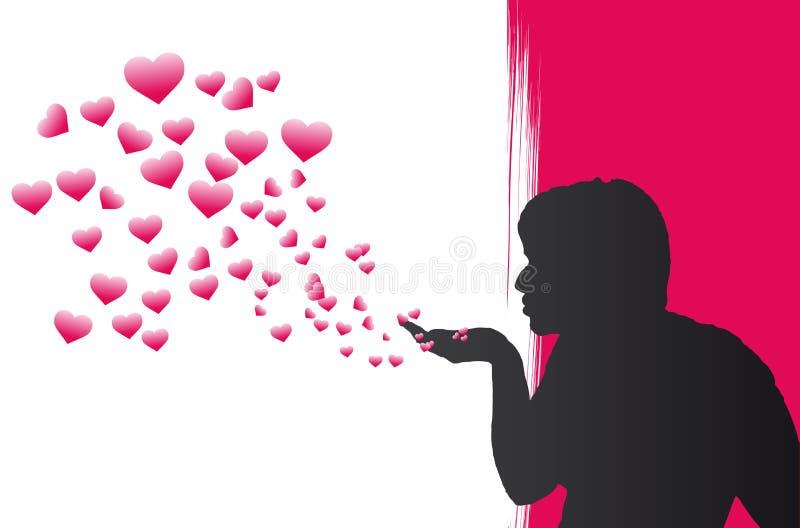 De Bellen van het hart royalty-vrije illustratie