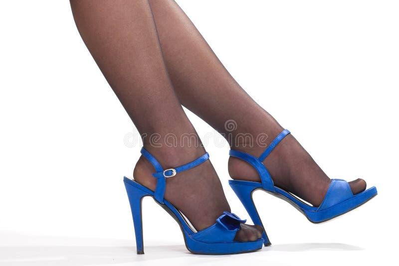 De benen van de vrouw `s royalty-vrije stock foto