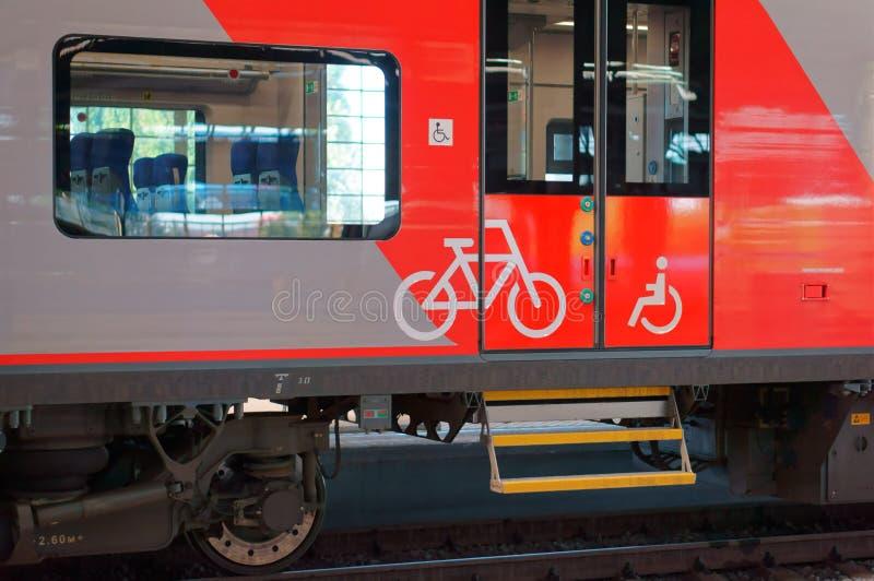 De benoeming van de auto voor vervoer van fietsen royalty-vrije stock foto