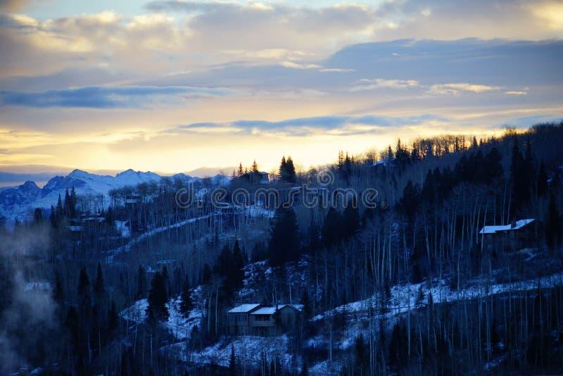 Download De berg van Colorado stock foto. Afbeelding bestaande uit aspen - 107709014