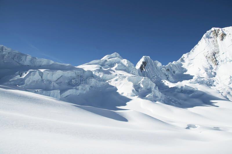 De berg van Cordilleras stock afbeelding
