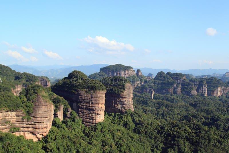 De berg van Danxia royalty-vrije stock foto's