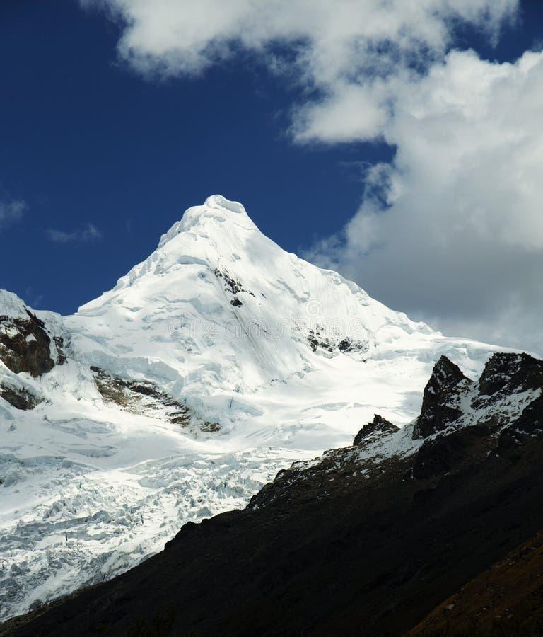 De berg van de cordillera stock afbeeldingen