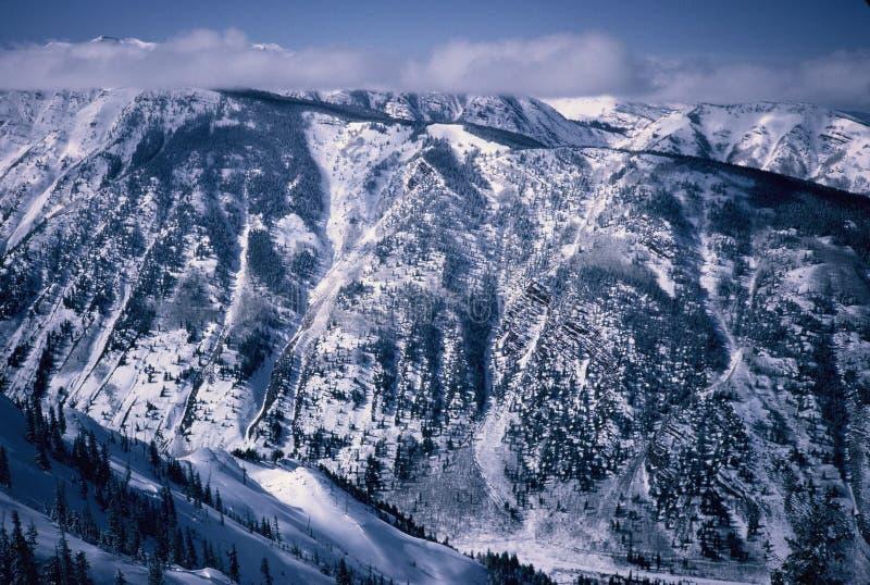 De Berg van de karnemelk stock afbeeldingen