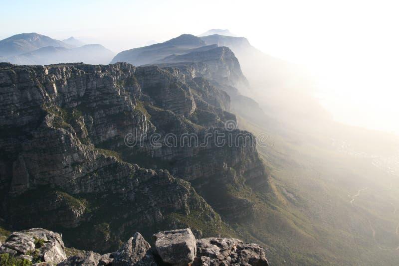 De berg van de lijst royalty-vrije stock foto's