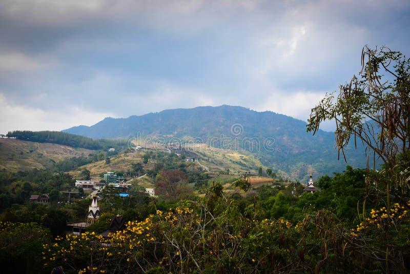 De berg van de tempel stock afbeelding