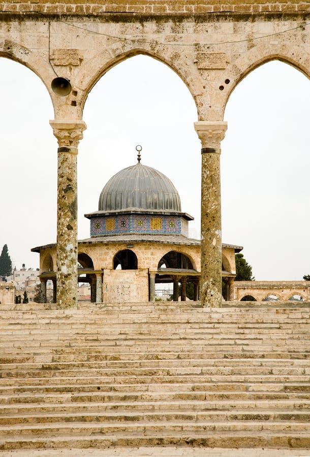 De berg van de Tempel in Jeruzalem. royalty-vrije stock afbeelding