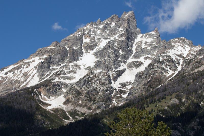 De Berg van Grand Teton stock afbeeldingen