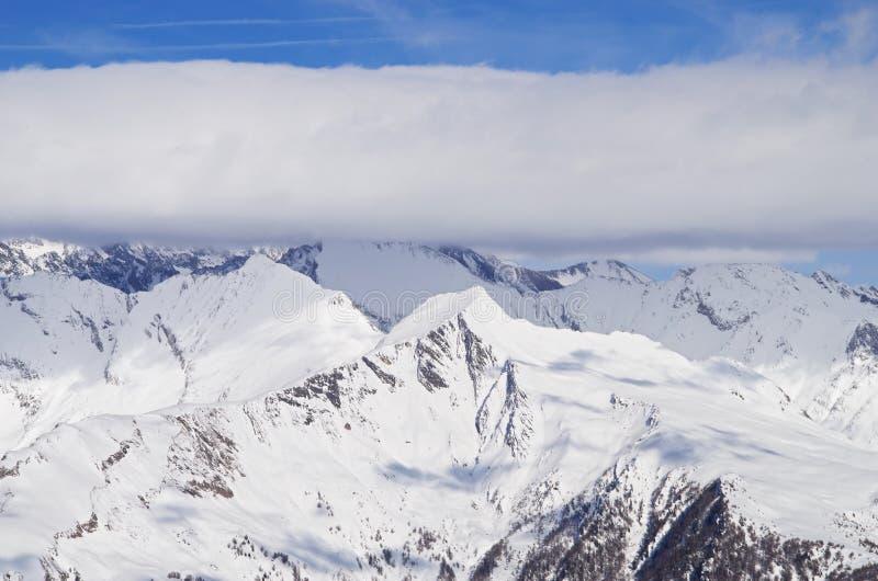De berg van Grossglockner stock afbeelding
