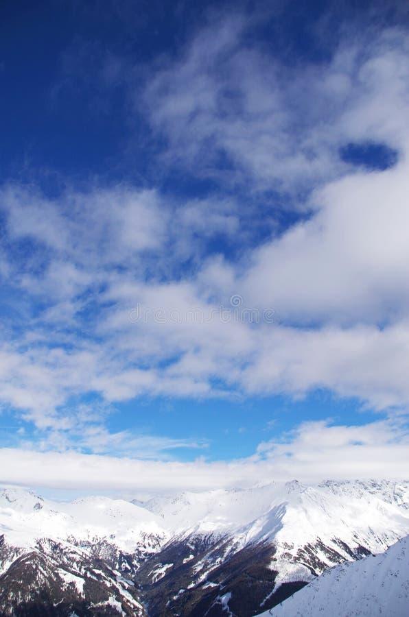 De berg van Grossglockner royalty-vrije stock foto