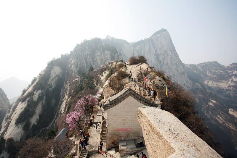 De Berg van Huashan royalty-vrije stock fotografie