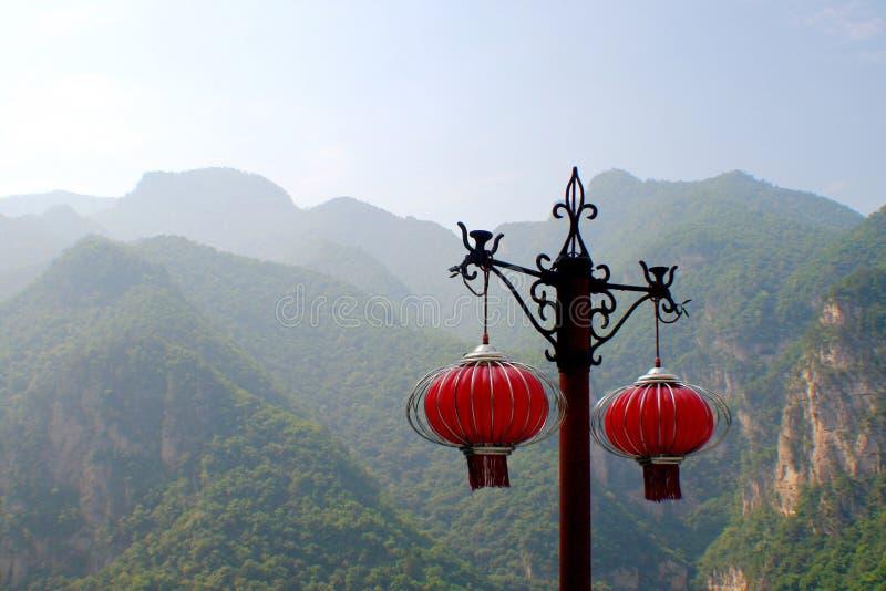 De berg van Jiexiumian stock fotografie