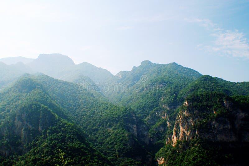 De berg van Jiexiumian royalty-vrije stock fotografie