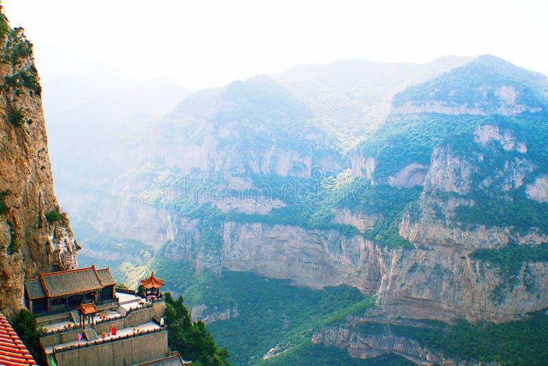De berg van Jiexiumian stock afbeelding