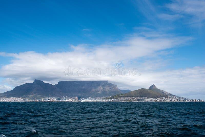 De Berg van Kaapstad en van de Lijst stock foto