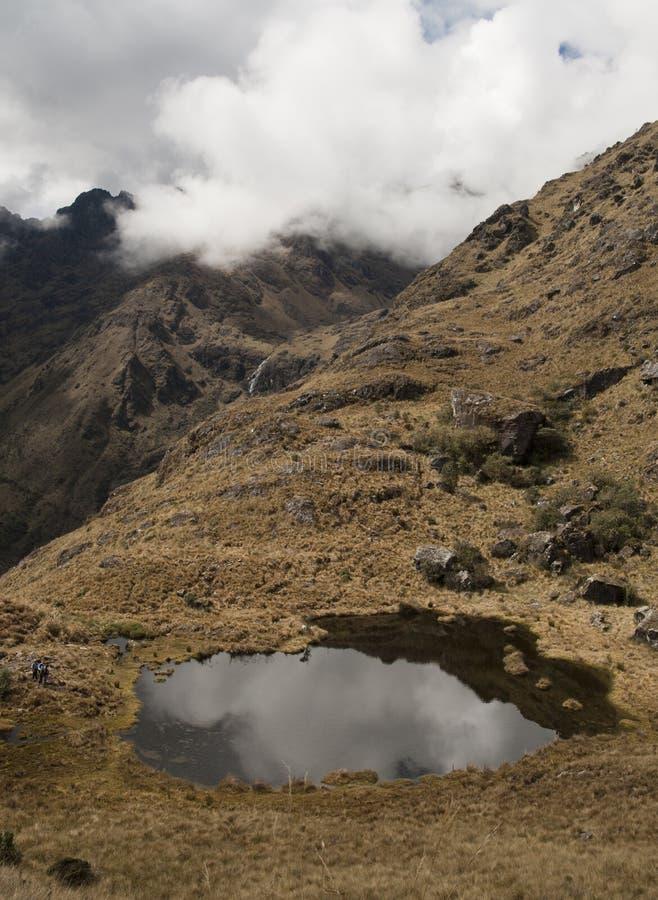 De berg van Peru stock afbeeldingen