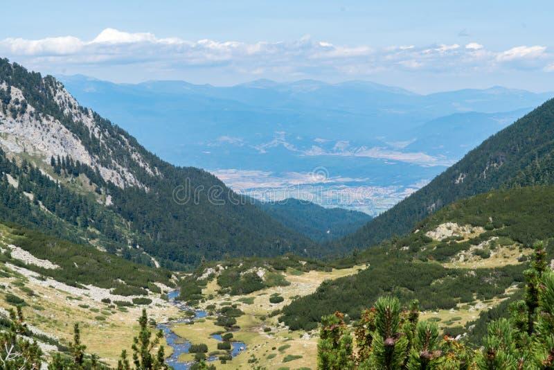 De berg van Pirin royalty-vrije stock foto