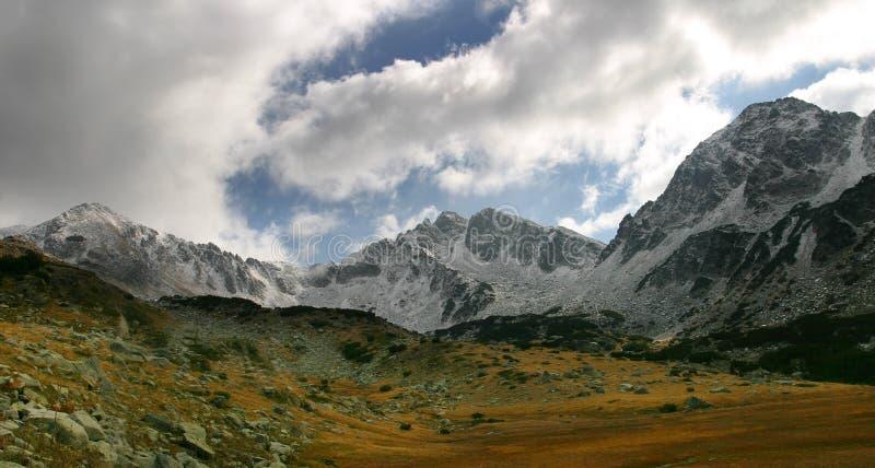 De berg van Pirin stock foto