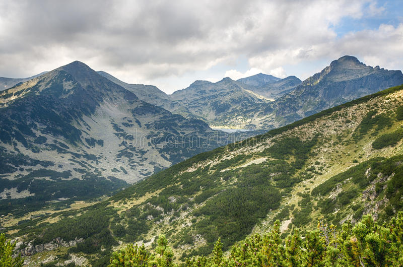 De berg van Pirin, Bulgarije royalty-vrije stock fotografie