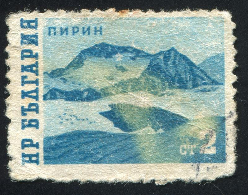 De berg van Pirin royalty-vrije stock afbeelding
