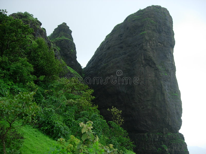 De Berg van Sahyadri stock afbeelding