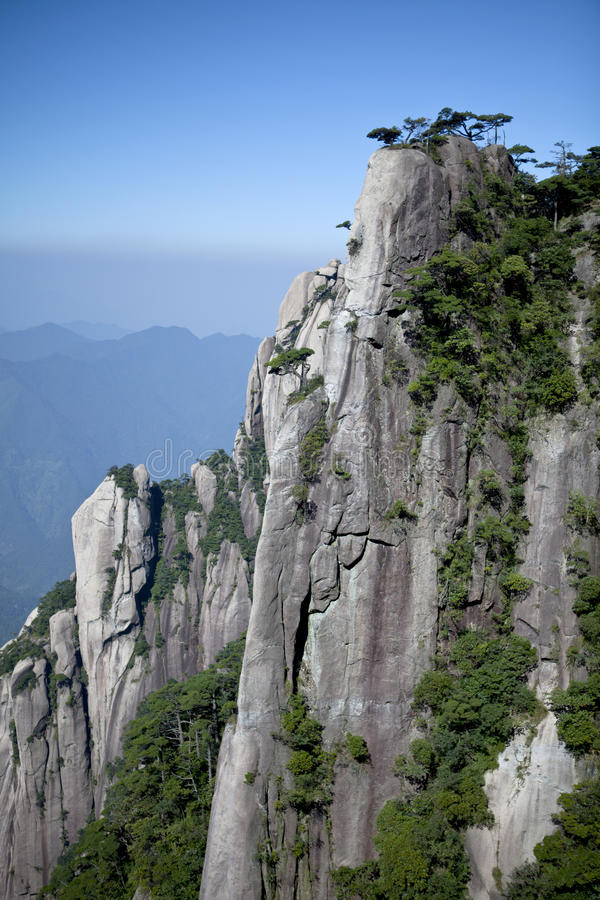 De Berg van Sanqing stock afbeelding
