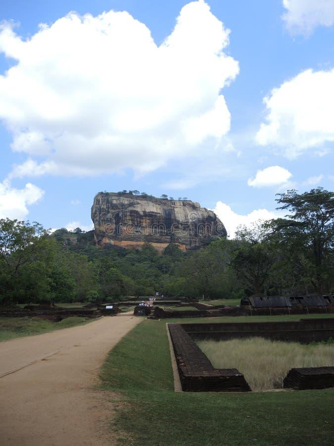 De berg van Sigiriya royalty-vrije stock foto