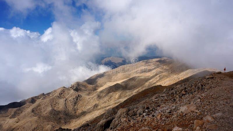 De berg van Turkije Olympus royalty-vrije stock foto's