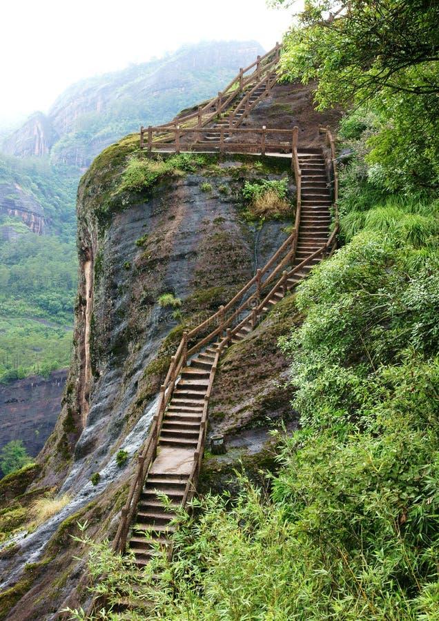 De Berg van Wuyi stock foto