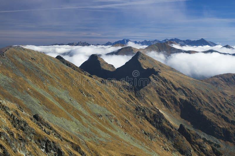 De bergen royalty-vrije stock fotografie