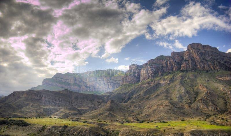 De bergen stock afbeelding