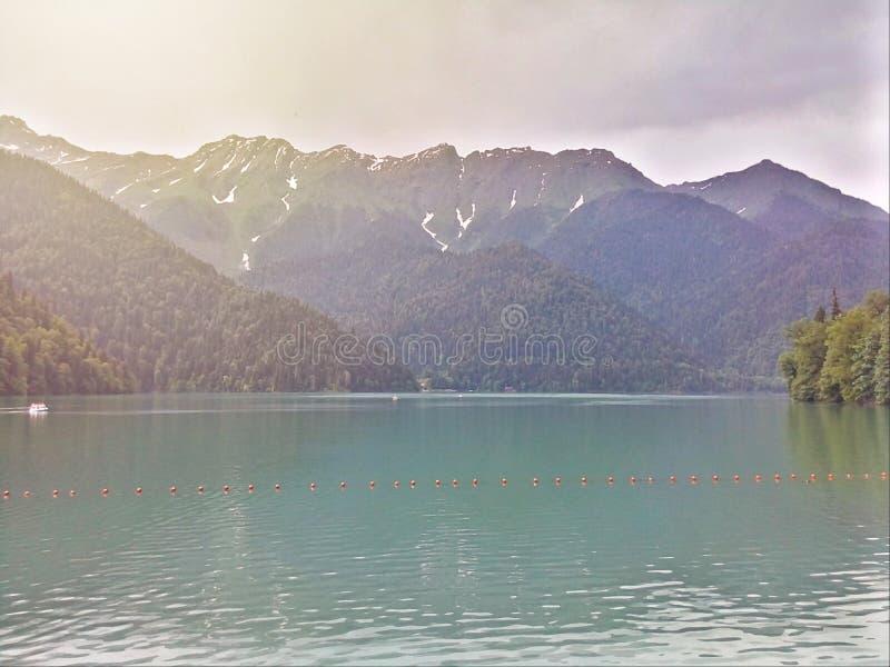 De bergen royalty-vrije stock foto's